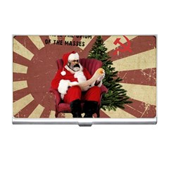Karl Marx Santa  Business Card Holders