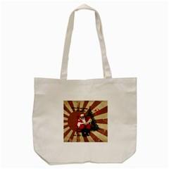 Karl Marx Santa  Tote Bag (cream)