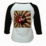 Karl Marx Santa  Kids Baseball Jerseys Back