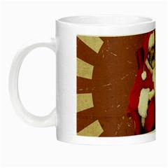 Karl Marx Santa  Night Luminous Mugs