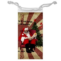 Karl Marx Santa  Jewelry Bag