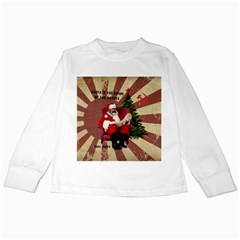 Karl Marx Santa  Kids Long Sleeve T Shirts