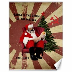 Karl Marx Santa  Canvas 12  X 16