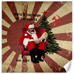 Karl Marx Santa  Canvas 20  X 20