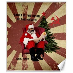Karl Marx Santa  Canvas 20  X 24