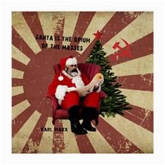 Karl Marx Santa  Medium Glasses Cloth