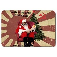 Karl Marx Santa  Large Doormat