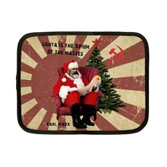 Karl Marx Santa  Netbook Case (small)