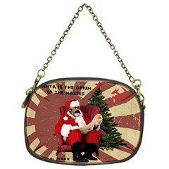 Karl Marx Santa  Chain Purses (one Side)