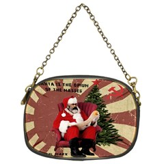Karl Marx Santa  Chain Purses (two Sides)