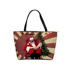 Karl Marx Santa  Shoulder Handbags