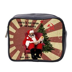 Karl Marx Santa  Mini Toiletries Bag 2 Side