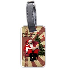 Karl Marx Santa  Luggage Tags (one Side)