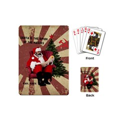 Karl Marx Santa  Playing Cards (mini)