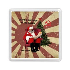 Karl Marx Santa  Memory Card Reader (square)