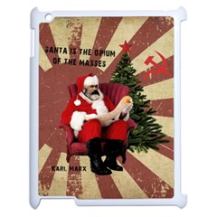 Karl Marx Santa  Apple Ipad 2 Case (white)