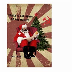 Karl Marx Santa  Large Garden Flag (two Sides)