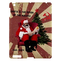 Karl Marx Santa  Apple Ipad 3/4 Hardshell Case