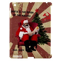 Karl Marx Santa  Apple Ipad 3/4 Hardshell Case (compatible With Smart Cover)
