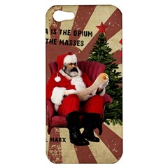 Karl Marx Santa  Apple Iphone 5 Hardshell Case