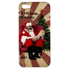 Karl Marx Santa  Apple Iphone 5 Hardshell Case