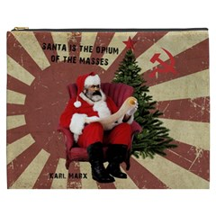 Karl Marx Santa  Cosmetic Bag (xxxl)