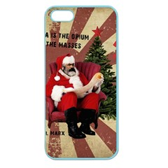 Karl Marx Santa  Apple Seamless Iphone 5 Case (color)
