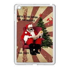 Karl Marx Santa  Apple Ipad Mini Case (white)