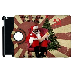 Karl Marx Santa  Apple Ipad 2 Flip 360 Case