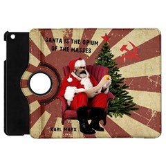Karl Marx Santa  Apple Ipad Mini Flip 360 Case