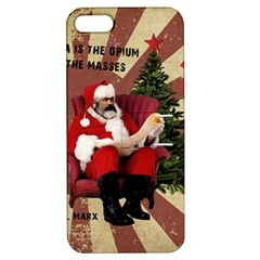 Karl Marx Santa  Apple Iphone 5 Hardshell Case With Stand