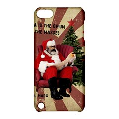 Karl Marx Santa  Apple Ipod Touch 5 Hardshell Case With Stand