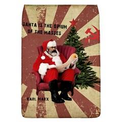 Karl Marx Santa  Flap Covers (l)