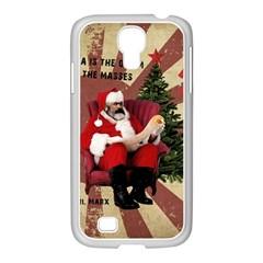 Karl Marx Santa  Samsung Galaxy S4 I9500/ I9505 Case (white)