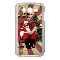Karl Marx Santa  Samsung Galaxy Grand Duos I9082 Case (white)