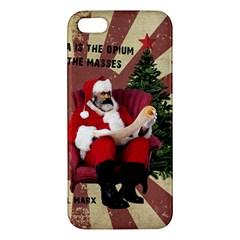 Karl Marx Santa  Iphone 5s/ Se Premium Hardshell Case