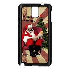 Karl Marx Santa  Samsung Galaxy Note 3 N9005 Case (black)
