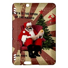 Karl Marx Santa  Kindle Fire Hdx Hardshell Case
