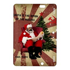 Karl Marx Santa  Kindle Fire Hdx 8 9  Hardshell Case