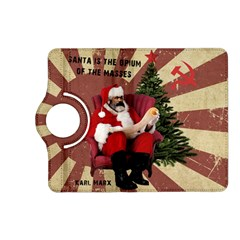 Karl Marx Santa  Kindle Fire Hd (2013) Flip 360 Case