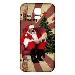 Karl Marx Santa  Samsung Galaxy S5 Back Case (white)