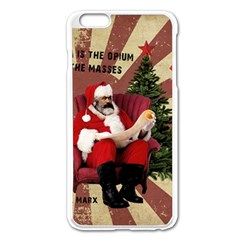 Karl Marx Santa  Apple Iphone 6 Plus/6s Plus Enamel White Case