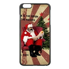 Karl Marx Santa  Apple Iphone 6 Plus/6s Plus Black Enamel Case
