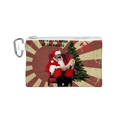 Karl Marx Santa  Canvas Cosmetic Bag (s)