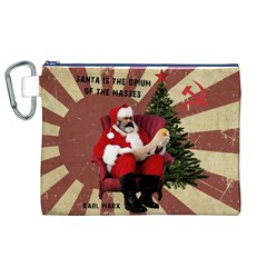 Karl Marx Santa  Canvas Cosmetic Bag (xl)
