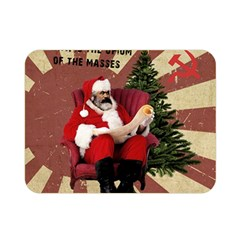 Karl Marx Santa  Double Sided Flano Blanket (mini)
