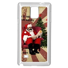 Karl Marx Santa  Samsung Galaxy Note 4 Case (white)