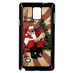 Karl Marx Santa  Samsung Galaxy Note 4 Case (black)