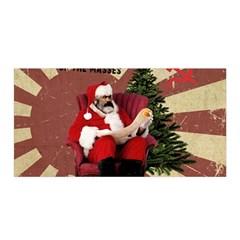 Karl Marx Santa  Satin Wrap