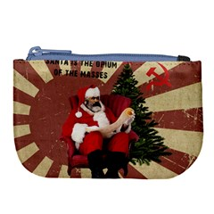 Karl Marx Santa  Large Coin Purse
